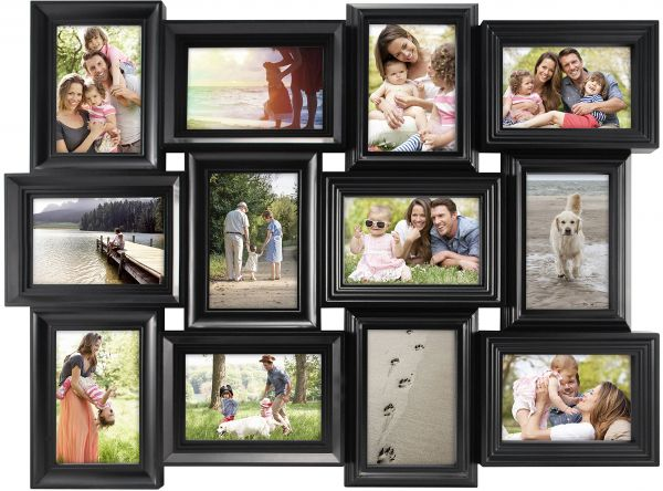 Souq | MCS 29x23 Inch Mega Collage Frame with 12 4x6 Inch Openings ...