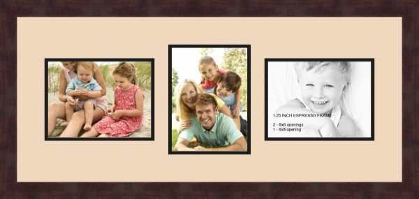Art To Frames Double Multimat 809 783 89 Frbw26061 Collage Frame