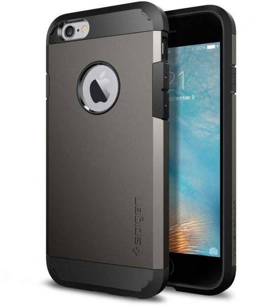 Spigen Apple iPhone 7 Tough Armor Case Anti-Shock Cover - Grey