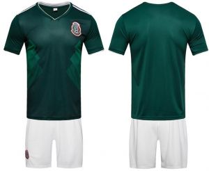 2018 World Cup Football Jersey Mexico Team Football suits Short-sleeved T- shirt - S code 2dc313ec3