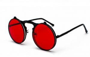 934c082ee Sun Glasses Round Sunglasses Trending Steampunk Goggles For Women Double  Flip Lens Cover Punk Sun Glasses Vintage Mens Sunglasses Brand Designer  Polarized ...