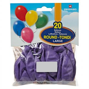 7c750a2772315 Pegaso Large Balloons - 20 Pieces