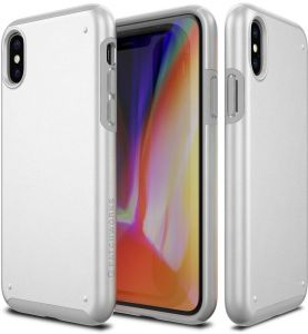 COVER IPHONE X CASE - CHROMA by patchworks -white