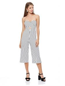 a0a9d5aef5e1 Tally Weijl Straight Jumpsuit for Women - White