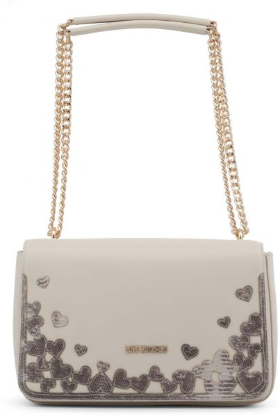 af7a5bdbe43c Love Moschino Women s Off White Shoulder Bag JC4295PP05KN 0110 ...