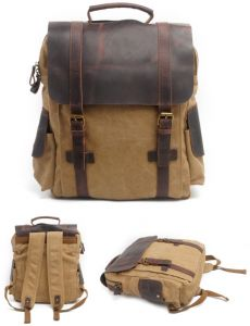 136b9b1dd8db Retro Travel Bag Canvas Backpack Men s Casual Backpack Outdoor Sports Bag- xsq