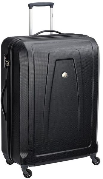 Delsey Keira hard luggage trolley travel suitcase bag 81 Cm with 4 ... dd44b86edccfe