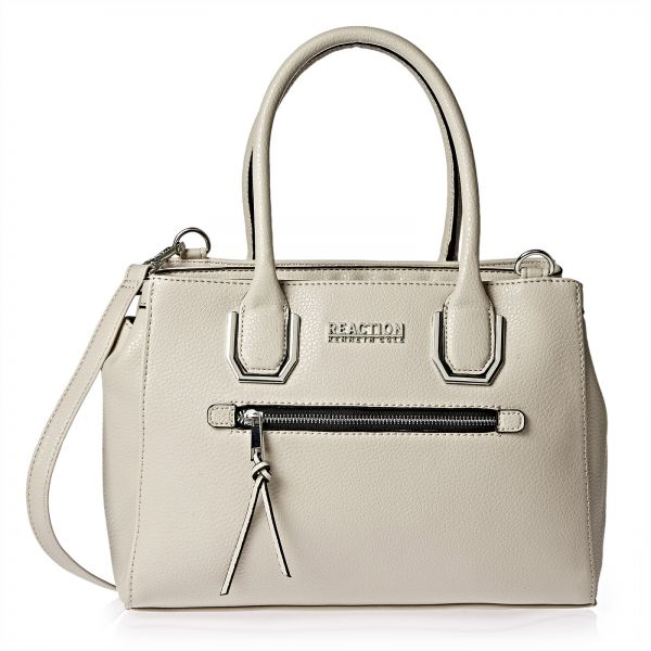 Kenneth Cole Reaction Bag For Women Grey Satchels Bags