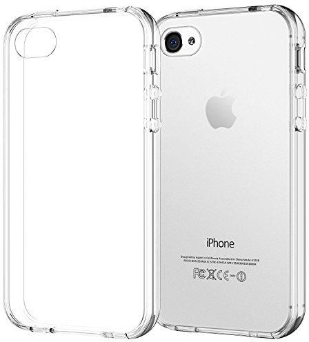 on sale af9cf e06a4 Apple iPhone 4/4s Clear Back Cover Back Case
