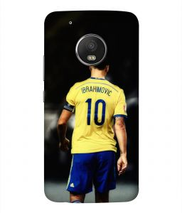 4a45ebdf6 ColorKing Football Ibrahimovic Sweden 01 Black shell case cover for  Motorola Moto G5 Plus
