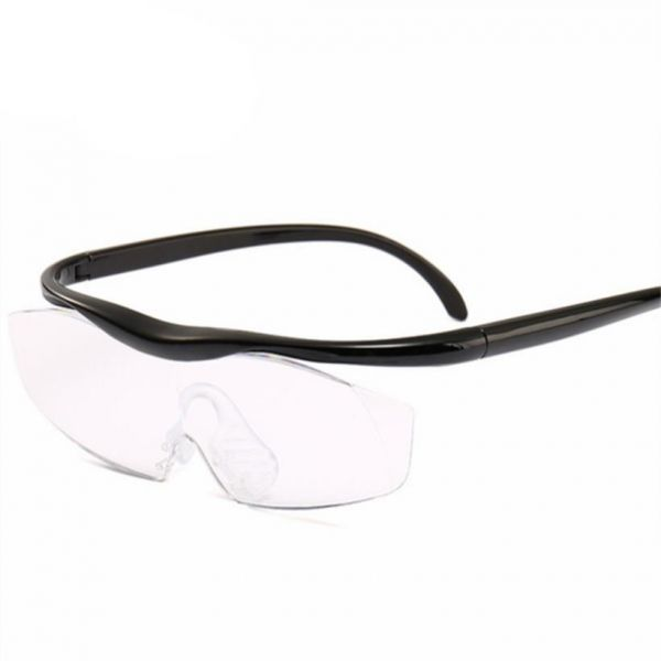 938206d12e6c 1.8 times Magnifying Glass Reading Glasses Big Vision 250% Magnification  Vision Presbyopic Glasses Magnifier Eyewear +300