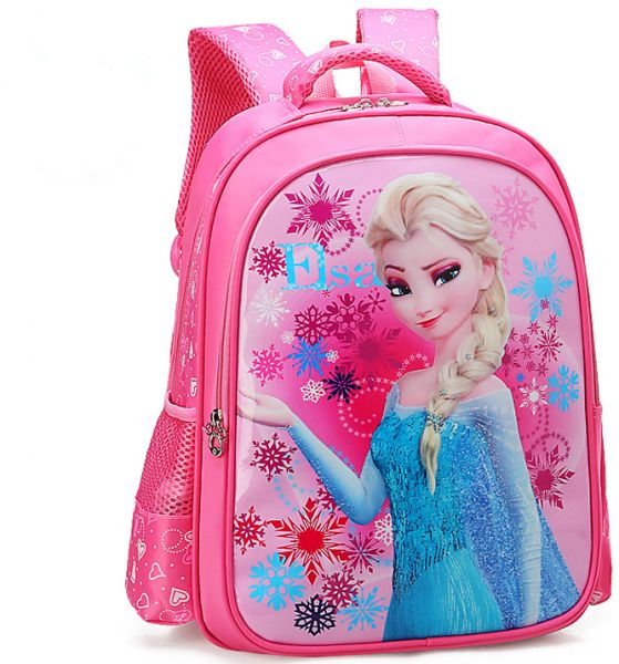 7f0b80575770 Cartoon lovely School Bags For Boys Girls Waterproof Backpacks Child Frozen Book  bag Kids Shoulder Bag Satchel Knapsack qy
