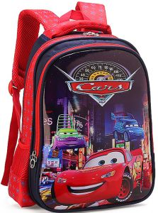 acbbc6742324 Cartoon lovely School Bags For Boys Girls Waterproof Backpacks Child cars Book  bag Kids Shoulder Bag Satchel Knapsack qy