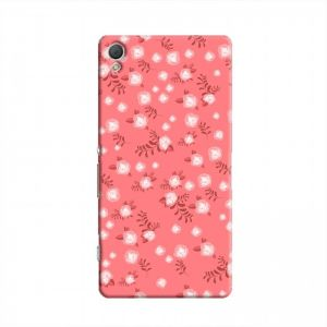 Cover It Up - Red Flower Red Paper Sony Xperia Z2 Hard Case