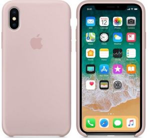 iPhone X Silicone case, X-Level (Vintage Series) Premium PU Leather Slim Fit Ultra light Soft Touch Protective Back Cover Case for Apple iPhone X - Pink