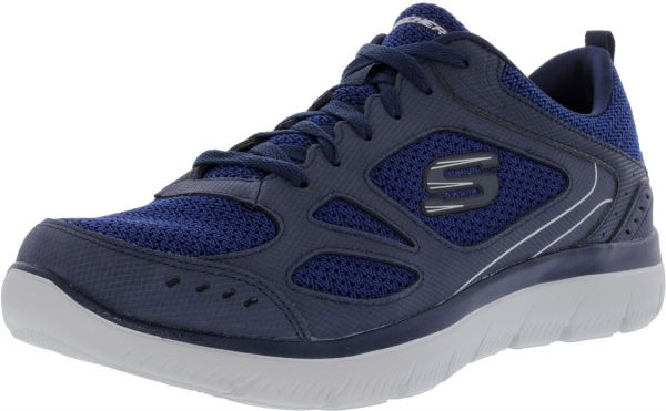 f88778387dd5 Skechers Summits South Rim Running Shoes for Men - Prussian Blue ...