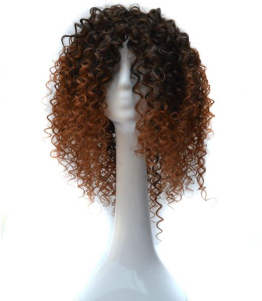Souq Africa Short Curly Hair Chemical Fiber Wigs Head For Women