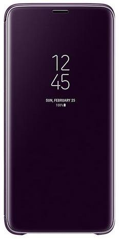 online retailer 3e241 0969a Samsung Clear View Standing Cover for Samsung Galaxy S9 Plus, Purple