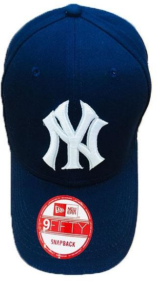 922941d8c92 NY (NEW YORK) BASEBALL CAP NAVY BLUE Baseball   Snapback Hat For ...