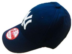 36e384f23eaf4 NY (NEW YORK) BASEBALL CAP NAVY BLUE Baseball   Snapback Hat For Unisex