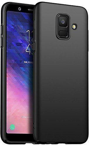 newest 6b5ff 46c04 Samsung Galaxy J6 (2018) Mate Soft TPU Back Case Cover - Black