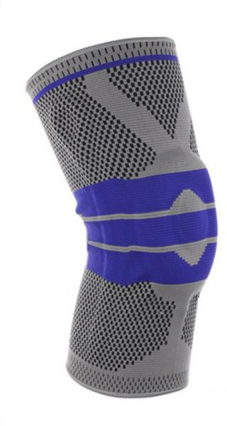 Basketball Support Silicon Padded Sports Knee Pads Support Brace