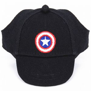 9237d14a30729 1pcs captain American Summer Outdoor Pet Dog Hat Cute Accessories For Small  Dogs Print Baseball Dog Cap