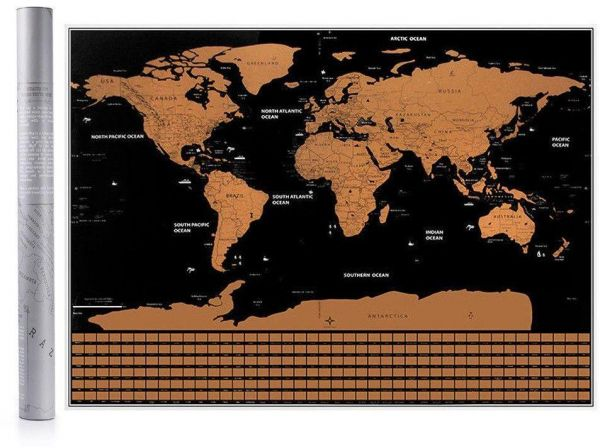 82 5x59 4cm Black Scratch Map World Travel Scratch Off Map For