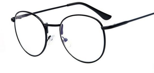 376529613972 Retro Round Frame Thin Leg glasses Fashion Women Men Eyewear