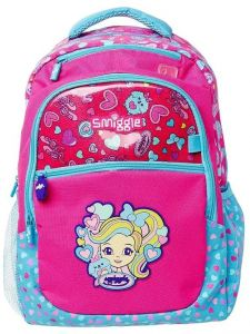 55d20d9e9818 Smiggle Princess Cute Cartoon Casual Holiday School Shoulder Bag Backpack  for Teen Girls Pink Fits 15 inch Laptop MorningFlowers