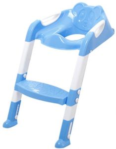 baby potty toilet Chair Training Seat With Adjustable Ladder Children Potty Baby Toilet Trainer Anti Slip Folding Seat