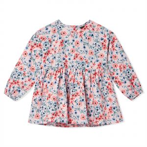 e7236a563a38c ICONIC Multi Color Round Neck Blouse For Girls
