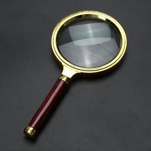 new arrivals ddb82 78720 10X Magnifying Glass 60mm Portable Handheld Magnifier for Je
