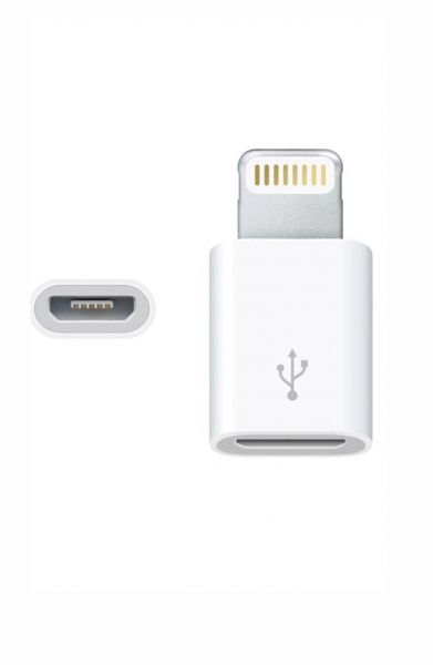 Lightning to Micro USB Adapter Cable for Apple iPhone 5 /5s/5c iPod Touch iPad 4 mini