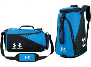 3a856f2da47e Under Armour UA Medium Duffle Bag Sport Duffle Gym Bag Travel Bag - Blue