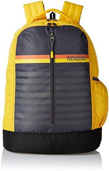 f266afc526c3 American Tourister 28 Ltrs Yellow School Backpack (AMT PING BACKPACK 01 -  YELLOW)