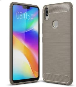 VIVO V9 2018 Carbon Fiber TPU Slim Lightweight Shockproof Case Cover