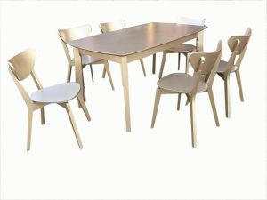 9ee7afde067c5 Dining table Malaysia with 6 chair
