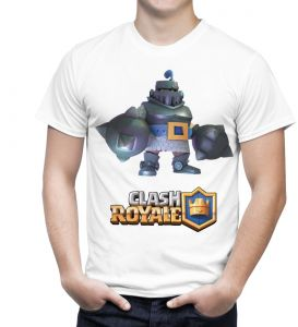 Khalagat T Shirt Clash Of Royal Mega Knight For Men White Buy Online Tops At Best Prices In Egypt Souq Com