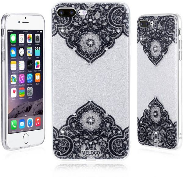 Mandala Case Jewelled Rhinestone Phone Case for iPhone X | Souq - UAE