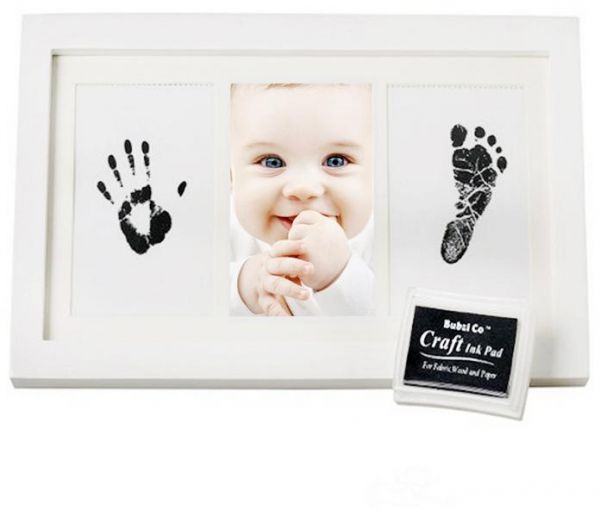 سوق | تسوق Newborn Baby Handprint and Footprint Photo Frame Kit for ...