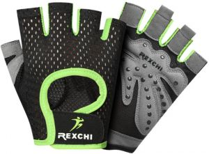 4e5e84d57147b REXCHI Professional Gym Fitness Gloves Power Weight Lifting Sports  Equipment Crossfit Workout Bodybuilding Fingerless Glove