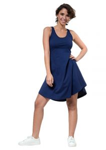 f973e0b65dd Cottonball Cotton Dress For Women - Navy