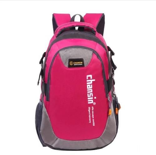 942053d58bad Chansin Casual Bag Multi-Functional Zipper Preppy Students Brief Chic  School Backpack pink color