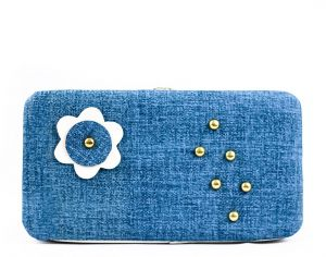 64c1f0f7be54 Light Blue Shamoa For Women - Flap Wallets