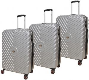 e86edfe1c74d Track Luggage Trolley Bags Set of 3 Pieces