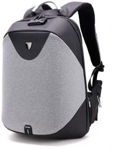 345325c3e326 Anti-theft Laptop Backpack with USB Charging Port and Cipher lock  Waterproof backpack three-dimensional digital product Storage backpack