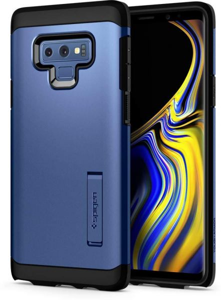 new arrival 80488 9a51f Spigen Tough Armor Galaxy Note 9 Case, Heavy Duty Protection with  Kickstand, Blue
