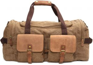 2460b0fd282e Large Capacity Men Hand Luggage Travel Duffle Bags Canvas Travel Bags