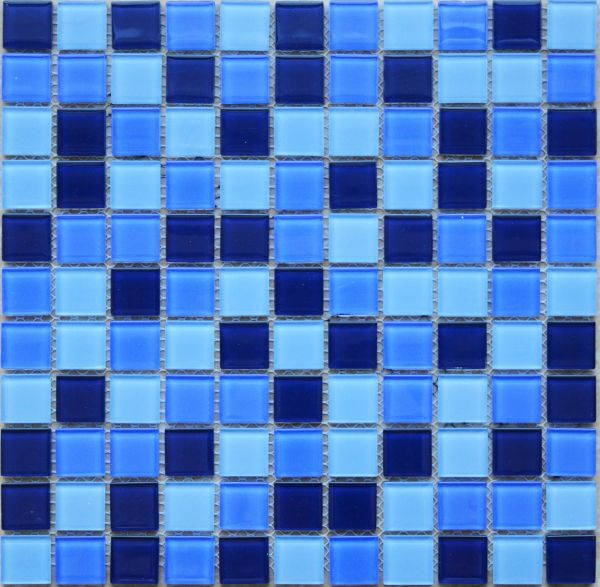 Glass Mosaic Tiles, Swimming Pool Mosaics, 2 SQM/carton, Ref:131109